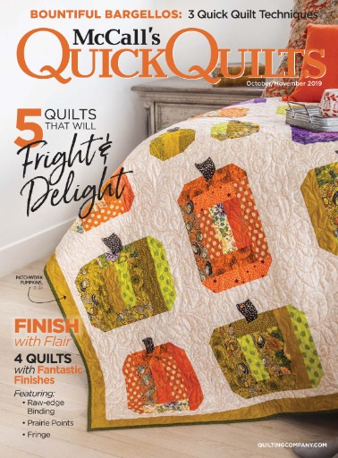 McCall's Quick Quilts Magazine Subscriptions