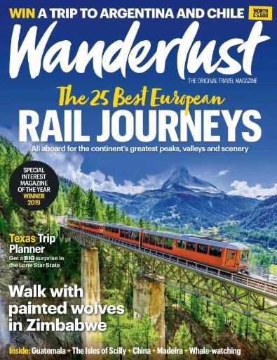 Wanderlust Magazine Subscriptions