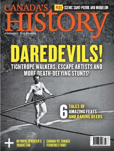 Canada's History Magazine Subscriptions