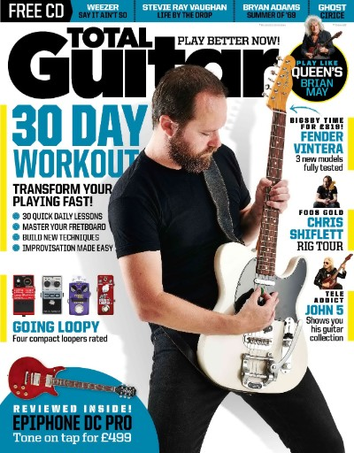 Total Guitar Magazine Subscriptions