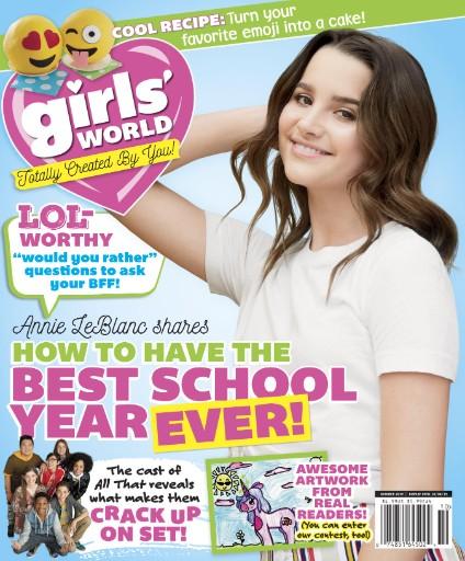 Girls' World Magazine Subscriptions