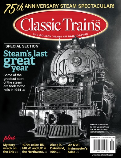 Classic Trains Magazine Subscriptions