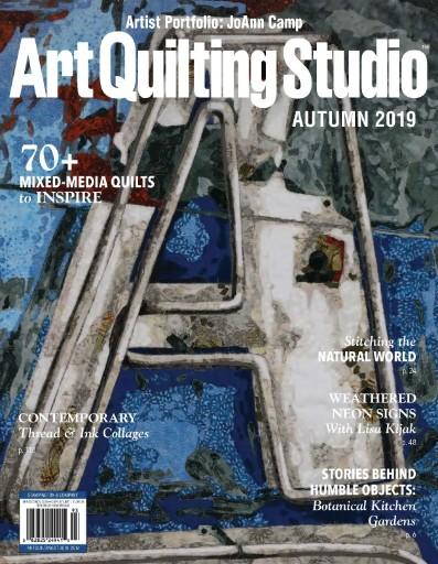 Art Quilting Studio Magazine Subscriptions