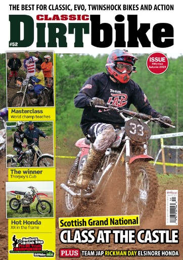Classic Dirt Bike Magazine Subscriptions