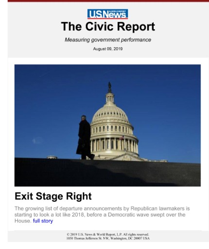 U.S. News & World Report: The Civic Report Magazine Subscriptions