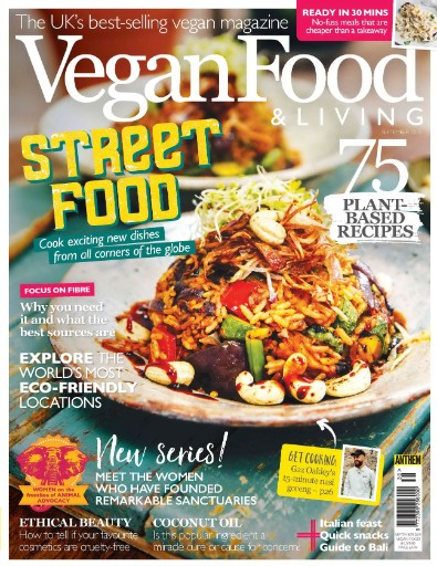 Vegan Food & Living Magazine Subscriptions