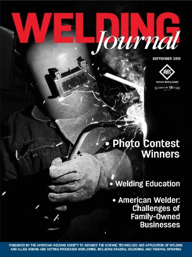 Welding Journal Magazine Subscriptions