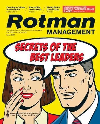 Rotman Management Magazine Subscriptions