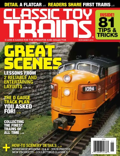 Classic Toy Trains Magazine Subscriptions