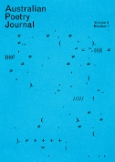 Australian Poetry Journal Magazine Subscriptions