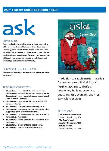 Ask Teacher's Guide Magazine Subscriptions