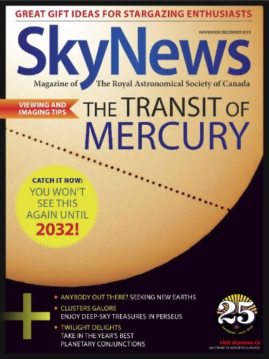 SkyNews: The Canadian Magazine of Astronomy & Stargazing Magazine Subscriptions