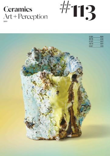 Ceramics: Art & Perception Magazine Subscriptions