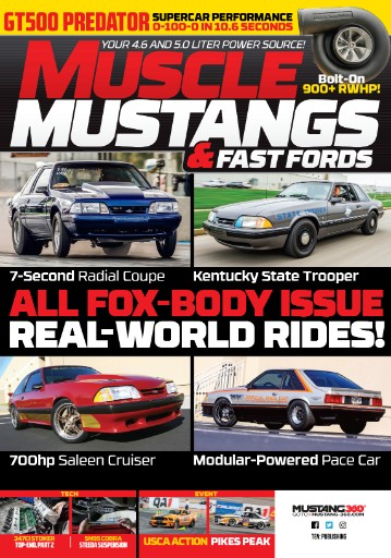 Muscle Mustangs & Fast Fords Magazine Subscriptions