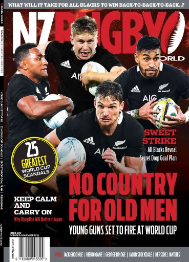NZ Rugby World Magazine Subscriptions