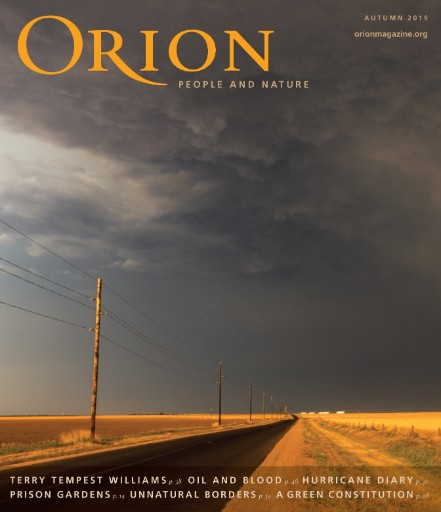 Orion Magazine Magazine Subscriptions