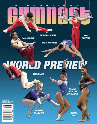 International Gymnast Magazine Subscriptions