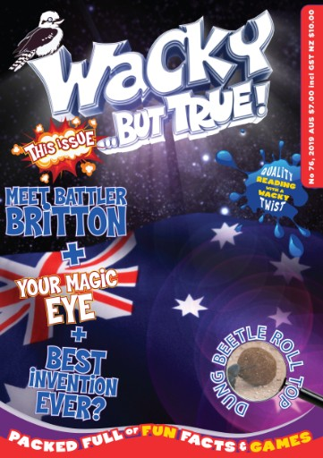 Wacky But True Magazine Subscriptions