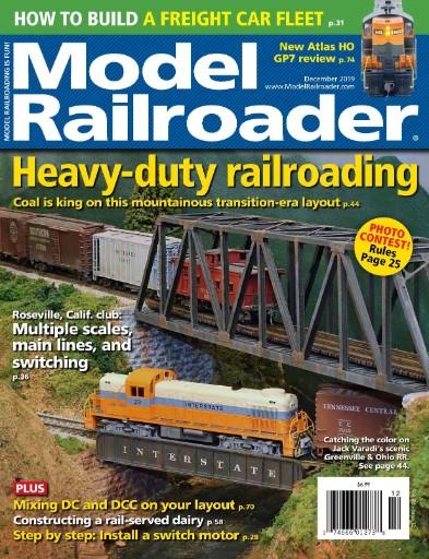Model Railroader Magazine Subscriptions