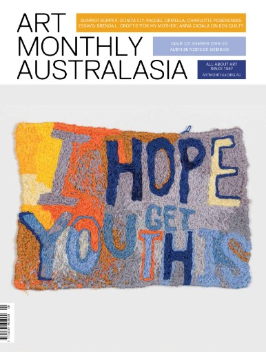 Art Monthly Australasia Magazine Subscriptions