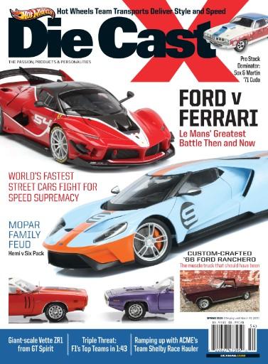 Die Cast X Magazine Subscriptions