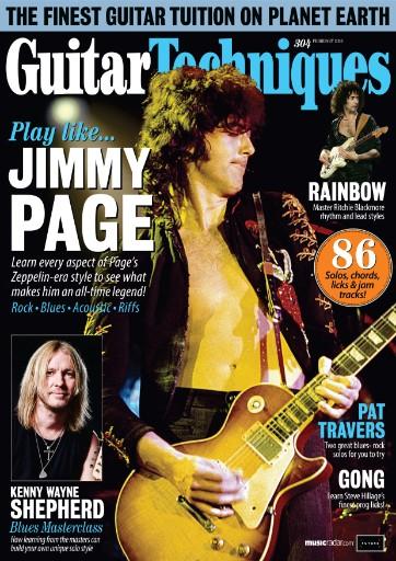 Guitar Techniques Magazine Subscriptions