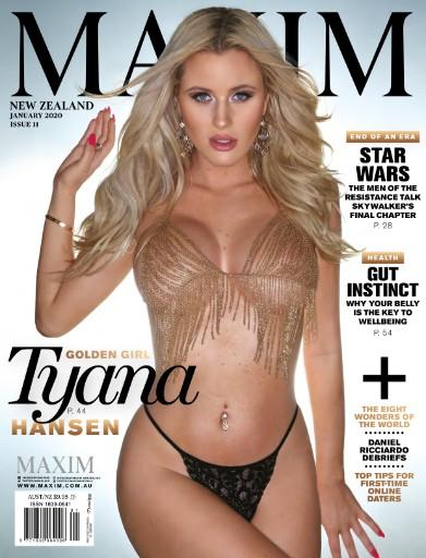 Maxim New Zealand Magazine Subscriptions