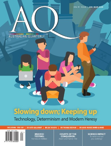 AQ: Australian Quarterly Magazine Subscriptions