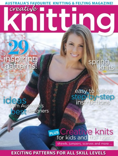 Creative Knitting (Australia Edition) Magazine Subscriptions