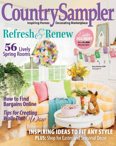 Country Sampler Magazine Subscriptions