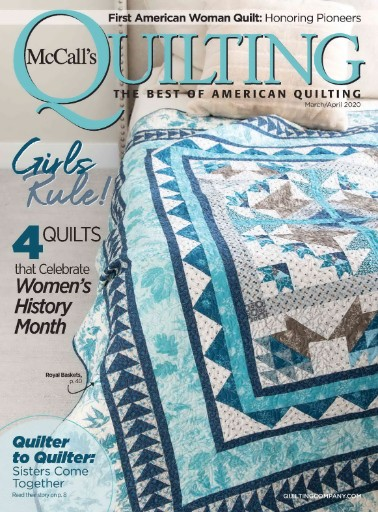 McCall's Quilting Magazine Subscriptions