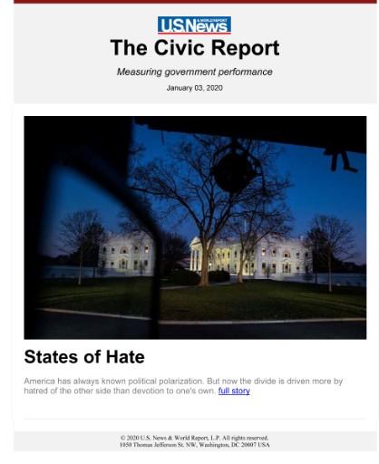 U.S. News & World Report: The Civic Report Magazine Subscriptions
