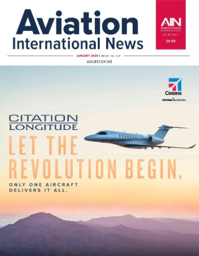 Aviation International News Magazine Subscriptions