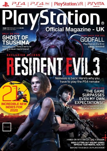 PlayStation: Official Magazine (UK Edition) Magazine Subscriptions