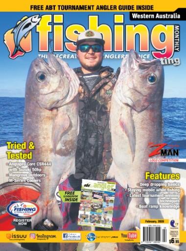 Western Australia Fishing Monthly Magazine Subscriptions