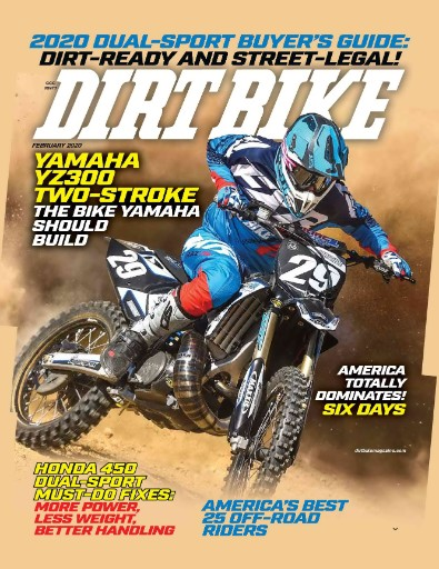 Dirt Bike Magazine Subscriptions
