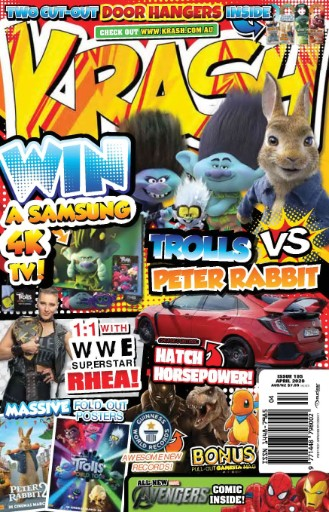 KRASH Magazine Subscriptions
