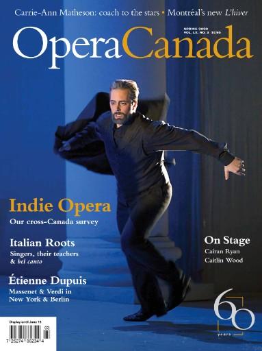 Opera Canada Magazine Subscriptions