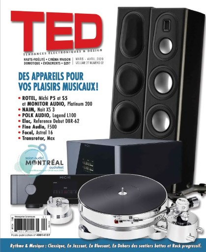 Magazine TED par QA&V Magazine Subscriptions