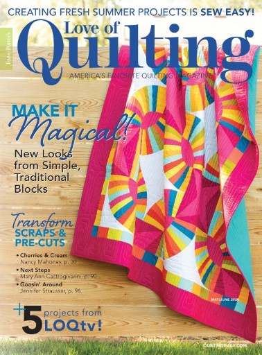 Fons & Porter's Love of Quilting Magazine Subscriptions