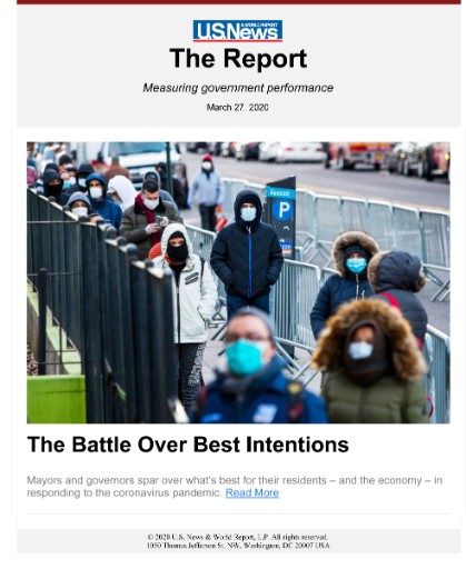 U.S. News & World Report: The Report Magazine Subscriptions