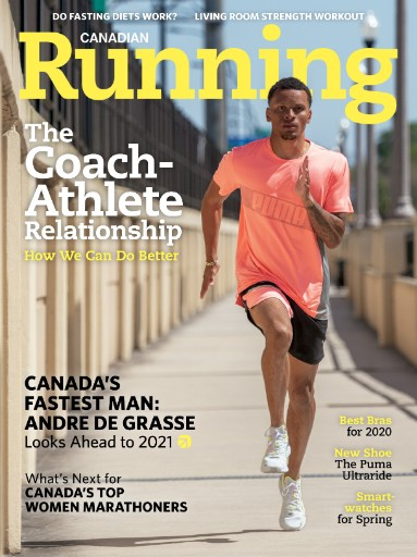 Canadian Running Magazine Subscriptions