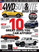 Australian 4WD & SUV Buyers Guide Magazine Subscriptions
