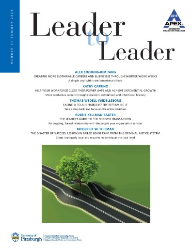 Leader to Leader Magazine Subscriptions