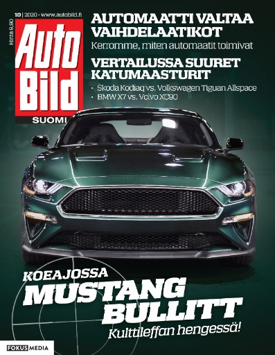 Auto Bild Suomi Magazine Subscriptions