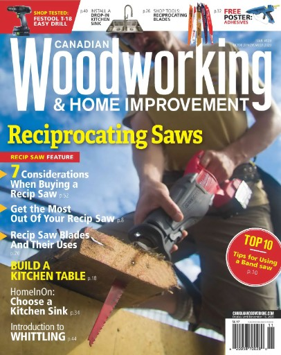 Canadian Woodworking & Home Improvement Magazine Subscriptions