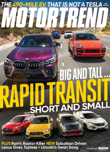 Motor Trend Magazine Subscriptions