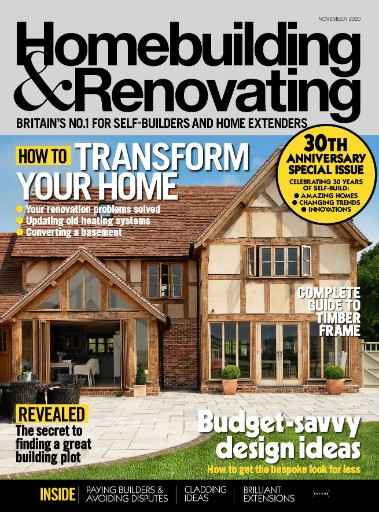Homebuilding & Renovating Magazine Subscriptions