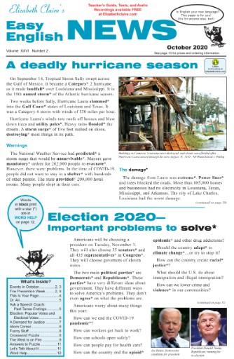 Easy English News Magazine Subscriptions