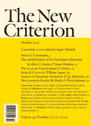 New Criterion Magazine Subscriptions